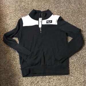 Small Quarter Zip PINK Pullover